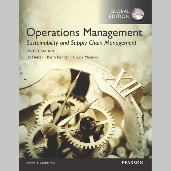 Operations Management: Sustainability and Supply Chain Management, Global Edition (ISBN: 9781292148632)
