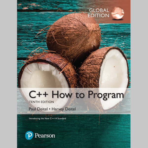 C++ How to Program (Early Objects Version), Global Edition (ISBN: 9781292153346)