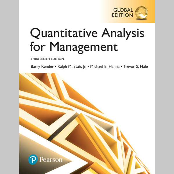 Quantitative Analysis for Management, Global Edition (ISBN: 9781292217659)