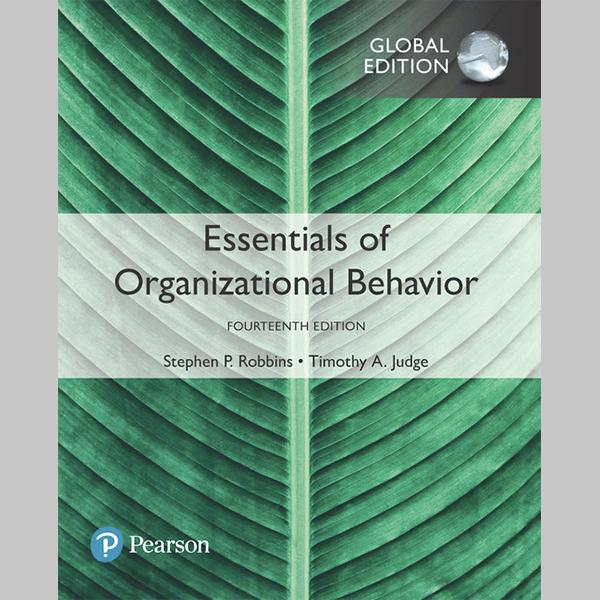 Essentials of Organizational Behavior, Global Edition (ISBN: 9781292221410)