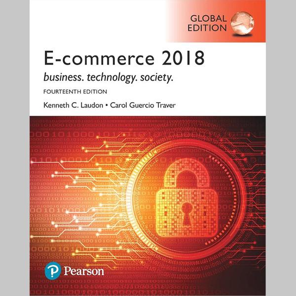 E-Commerce 2018, Global Edition (ISBN: 9781292251707)