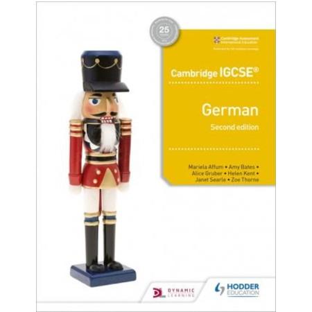 Cambridge IGCSE™ German Student Book Second Edition (ISBN: 9781510447561)
