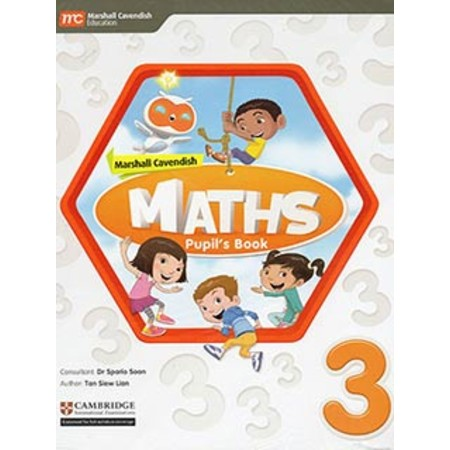 Marshall Cavendish Maths Pupil's Book with enhanced eBook 3 (ISBN: 9789813165366)