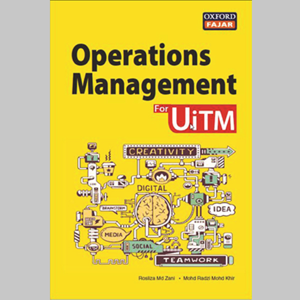 Operations Management for UiTM (ISBN: 9789834717025)