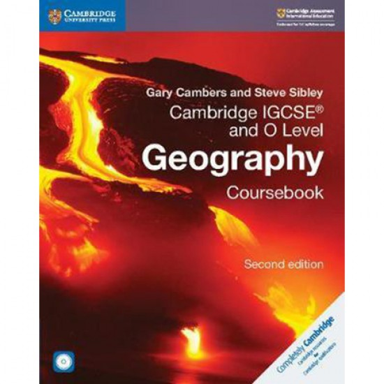 Cambridge IGCSE and O Level Geography Coursebook with CD-ROM (ISBN: 9781108339186)