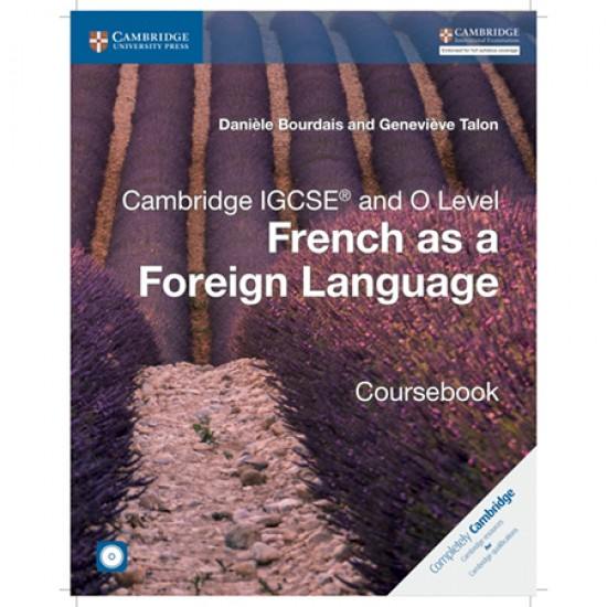 Cambridge IGCSE and O Level French as a Foreign Language Coursebook with Audio CDs (2) (ISBN: 9781316623589)