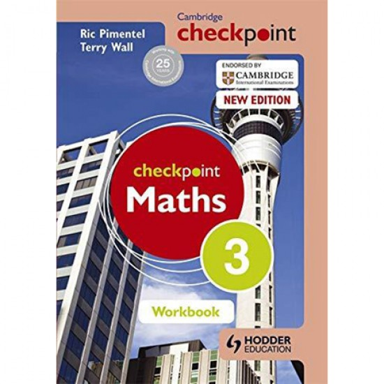 Cambridge Checkpoint Maths Workbook 3 (ISBN: 9781444144055)