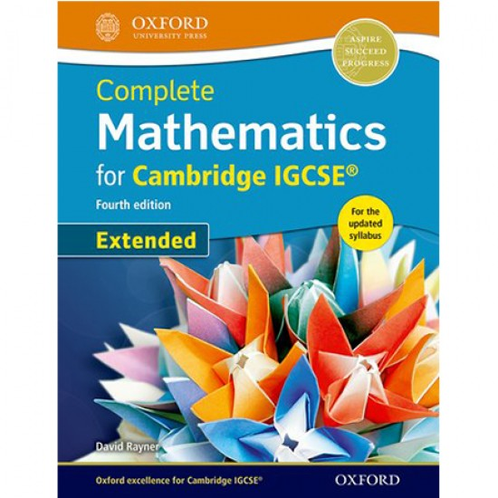 Complete Mathematics for Cambridge IGCSE® Student Book (Extended) (ISBN: 9780198378358)