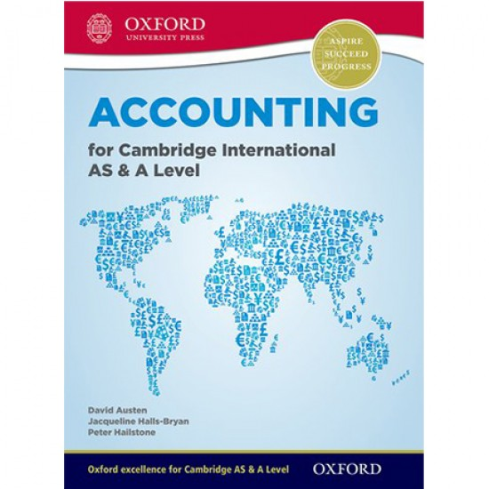 Accounting for Cambridge International AS and A Level (ISBN: 9780198399711)