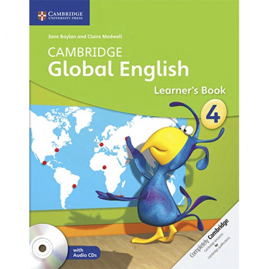 Cambridge Global English Stage 4 Learner's Book with Audio CD (2) (ISBN: 9781107613638)