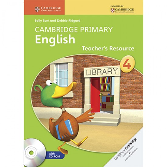 Cambridge Primary English Stage 4 Teacher's Resource Book with CD-ROM (ISBN: 9781107650855)