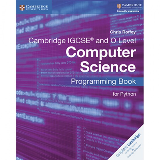 Cambridge IGCSE and O Level Computer Science Programming Book for Python (ISBN: 9781316617823)