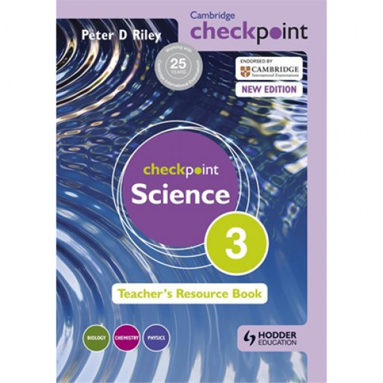Cambridge Checkpoint Science Teacher's Resource Book 3 (ISBN: 9781444143829)