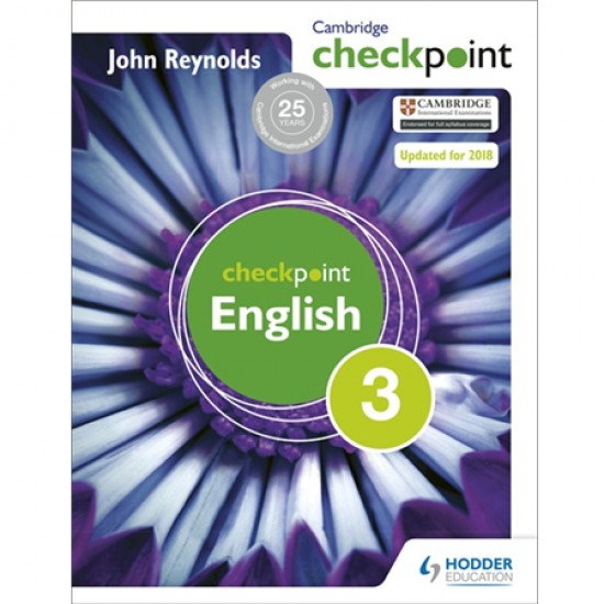 Cambridge Checkpoint English Student's Book 3 (ISBN: 9781444143874)