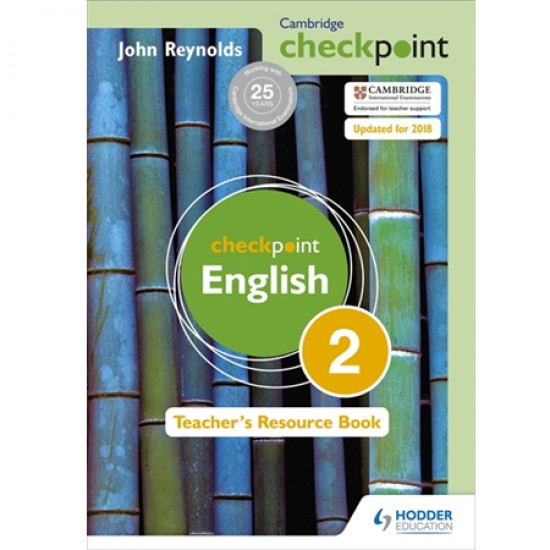 Cambridge Checkpoint English Teacher's Resource Book 2 (ISBN: 9781444143904)