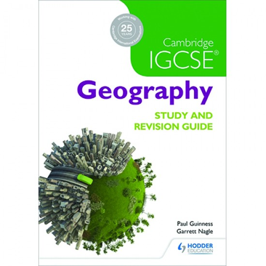 Cambridge IGCSE Geography Study and Revision Guide (ISBN: 9781471874055)