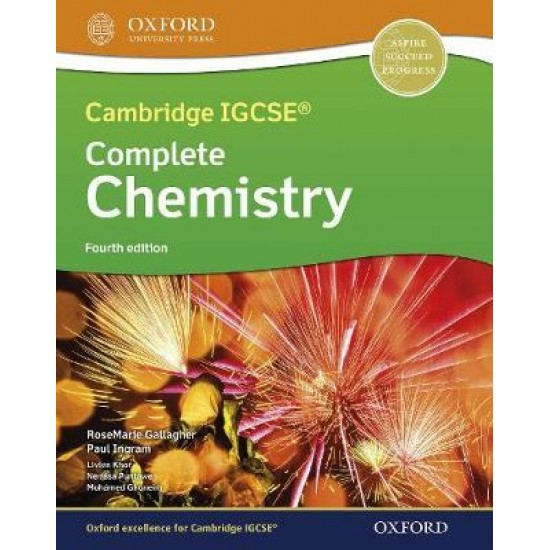 CAMBRIDGE IGCSE & O LEVEL COMPLETE CHEMISTRY: STUDENT BOOK (FOURTH EDITION ) ( ISBN: 9781382005852)