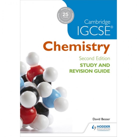 Cambridge IGCSE Chemistry Study and Revision Guide (ISBN: 9781471894602)