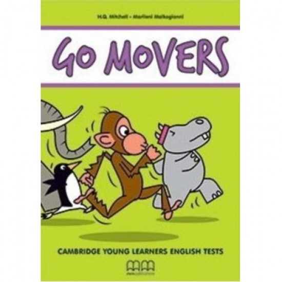 Go Movers (2018 Exam) Student's Book with MP3 Audio CD (ISBN: 9786180519433)