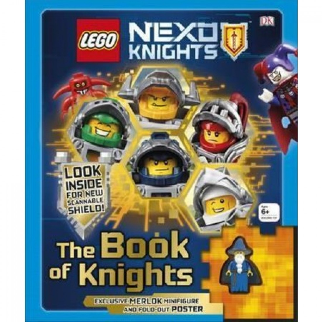 lego nexo knights the book of knights includes exclusive