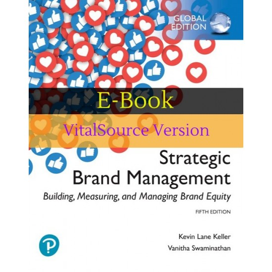 Strategic Brand Management Building Measuring and Managing Brand Equity e-Book Global Edition (ISBN: 9781292314990)