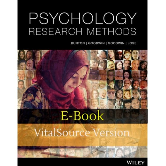 Psychology Research Methods e-book 1st Edition (ISBN: 9780730362944)