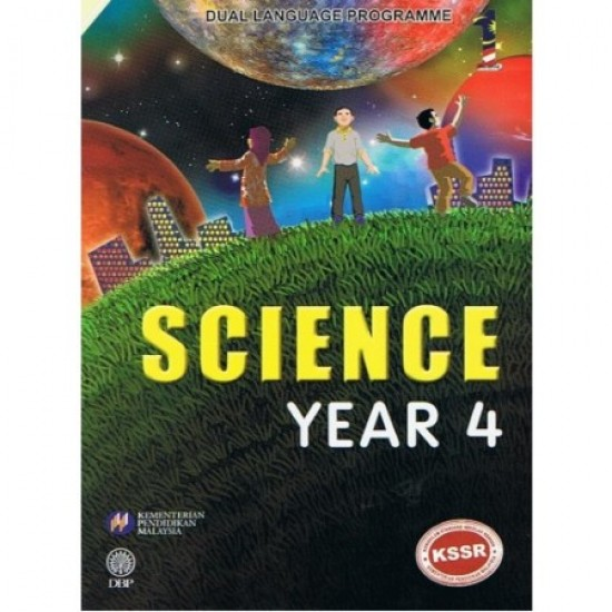 Textbook Science Year 4 - DLP (ISBN: 9789834912499)