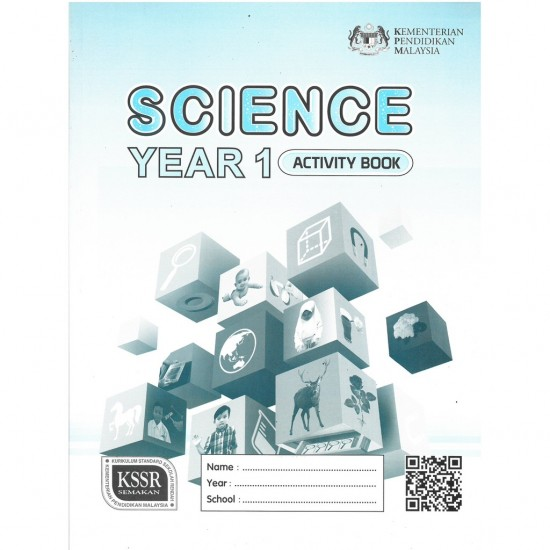 Activity Book Science Year 1 - DLP (ISBN: 9789834912567)