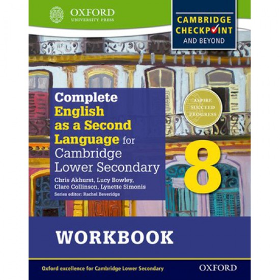 Complete English as a Second Language for Cambridge Lower Secondary Workbook 8 (ISBN: 9780198378167)
