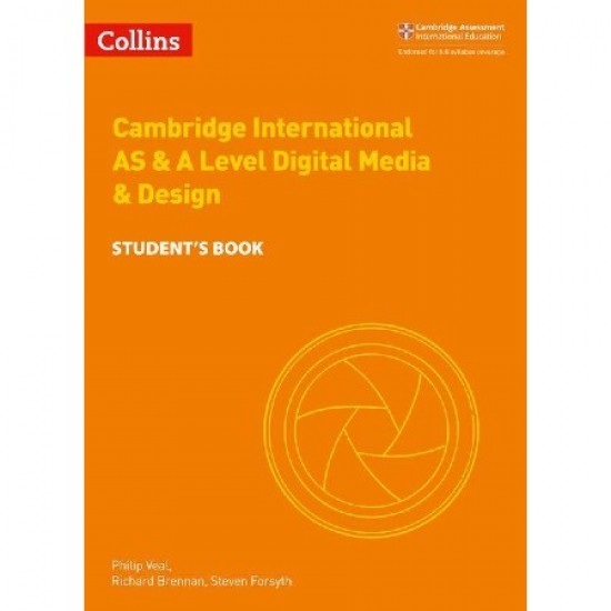 Collins Cambridge International AS & A Level Digital Media and Design Student's Book (ISBN: 9780008251000)