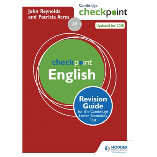 Cambridge Checkpoint English Revision Guide for the Cambridge Secondary 1 Test (ISBN: 9781444180725)