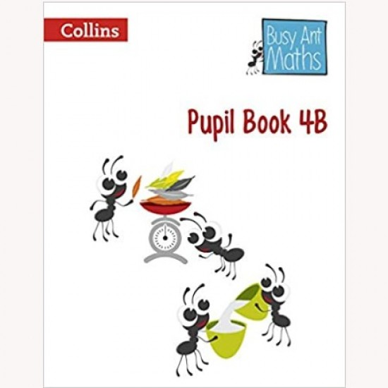 Busy Ant Maths Pupil Book 4B (ISBN: 9780007562411)