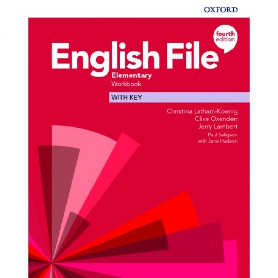 English File Elementary Workbook with Key (ISBN: 9780194032896)