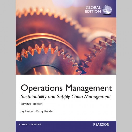 Operations Management, Global Edition (ISBN: 9780273787075)