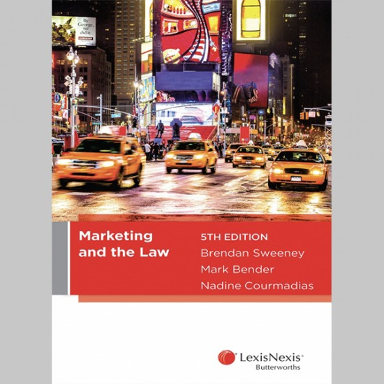 Marketing and the Law, 5th edition (ISBN: 9780409338355)