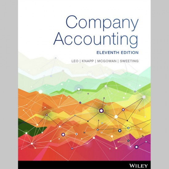 Company Accounting, 11th Edition (ISBN: 9780730364580)