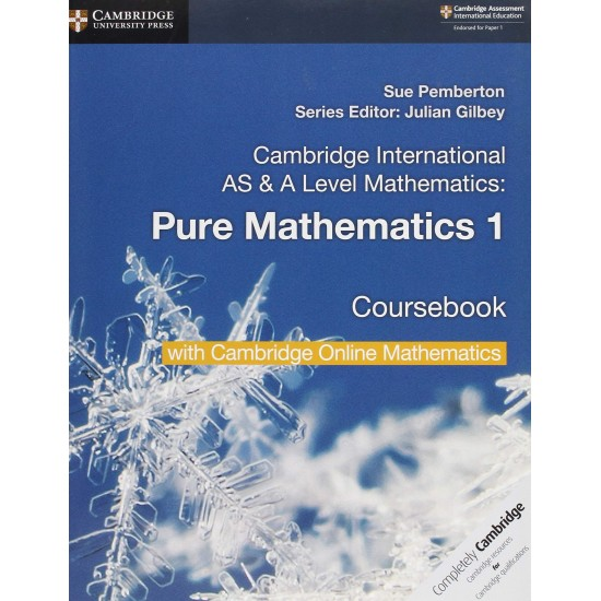 CAMB INT AS & A-LEVEL MATH PURE MATH 1 SB W CAMBRIDGE ONLINE (2 Years) (ISBN:9781108562898)