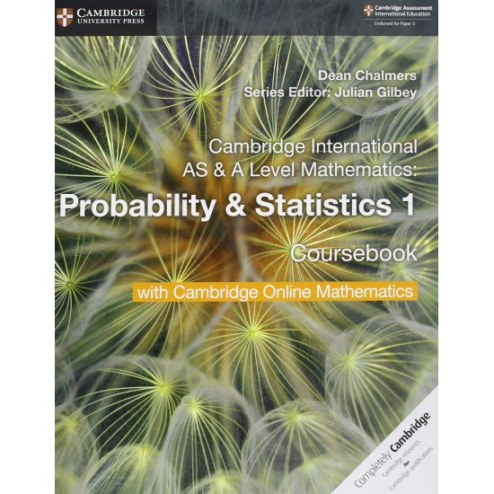 CAMB INT AS & A-LEVEL MATH PROBABILITY AND STATISTICS 1 SB W CAMBRIDGE ONLINE (2 Years) (ISBN:9781108610827)