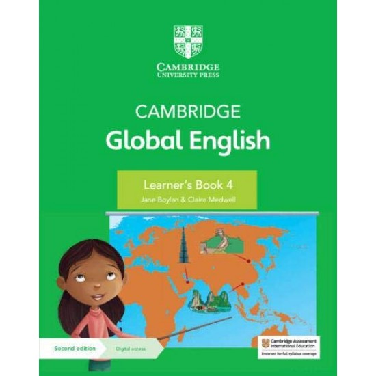 Cambridge Global English Learner's Book with Digital Access Stage 4 (ISBN:9781108810821)