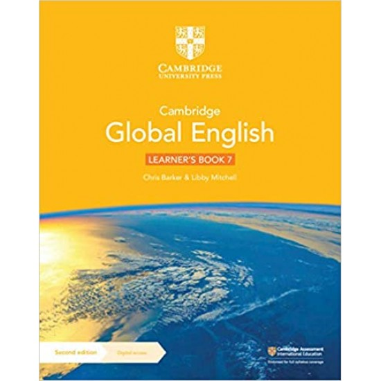 Cambridge Global English Learner's Book with Digital Access Stage 7 (1 year) (ISBN:9781108816588)