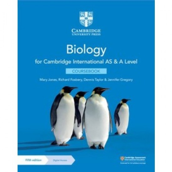 Cambridge International AS & A Level Biology Coursebook with Digital Access (2 Years) (ISBN: 9781108859028)