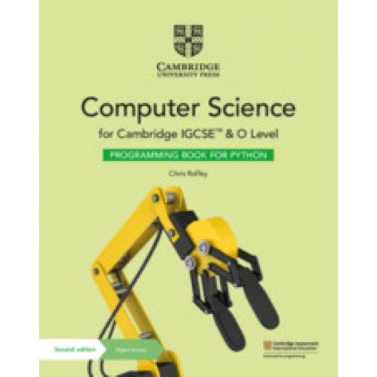 Camb IGCSE and O Lvl Comp Sci Prog Bk for Python W Digital Access (2 years) (ISBN:9781108951562)