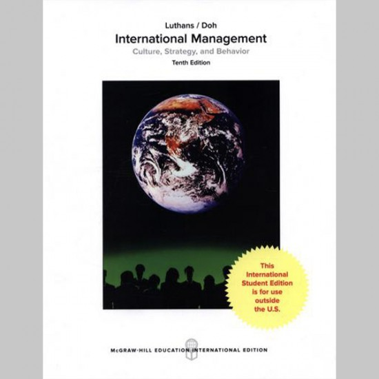 International Management: Culture, Strategy, and Behavior (ISBN: 9781259921926)