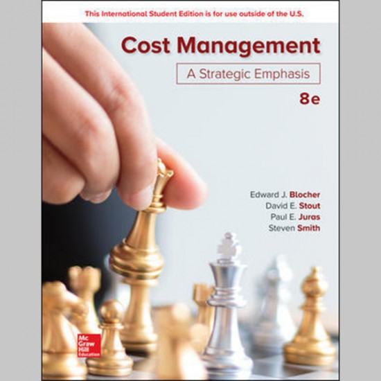 Cost Management: A Strategic Emphasis, 8E (ISBN: 9781260091724)
