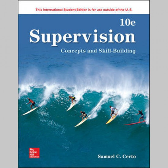Supervision: Concepts And Skill-Building, 10E (ISBN: 9781260092950)