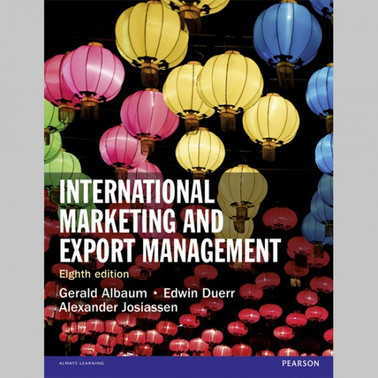International Marketing and Export Management (ISBN: 9781292016924)
