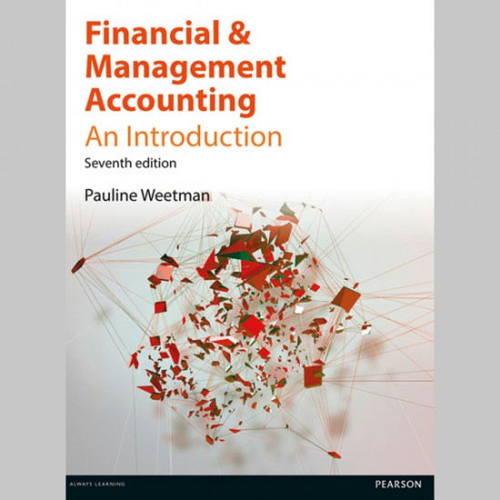 Financial and Management Accounting (ISBN: 9781292086590)