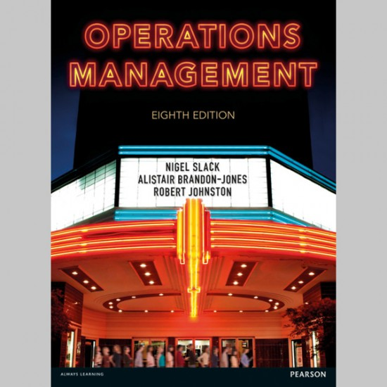 Operations Management (ISBN: 9781292098678)