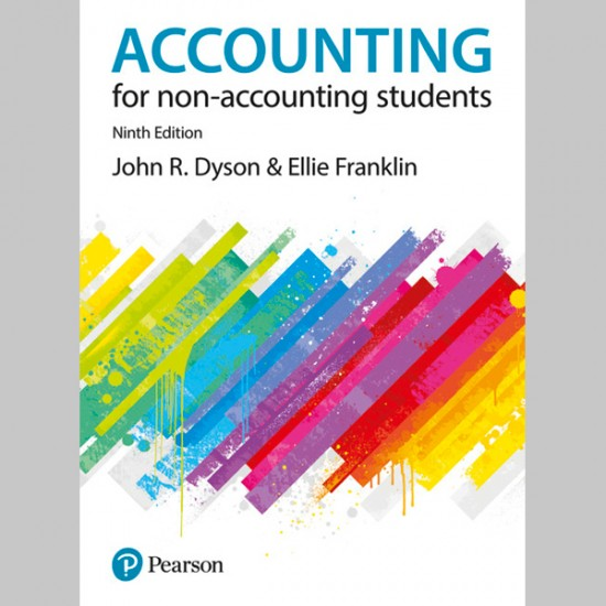 Accounting for Non-Accounting Students 9th Edition (ISBN: 9781292128979)