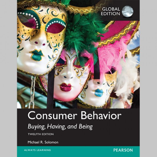 Consumer Behavior: Buying, Having, and Being, Global Edition (ISBN: 9781292153100)